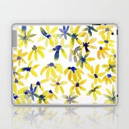 Blue Eyed Susan Laptop & iPad Skin