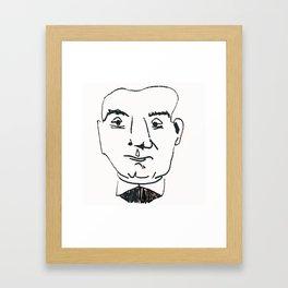 Enrico Caruso Framed Art Print