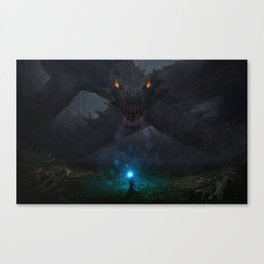 Swamp Dragon Canvas Print
