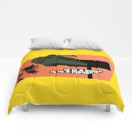 Flying Tank Comforters