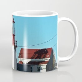 Cap-Chat Lighthouse in Spring Coffee Mug