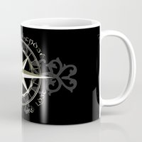 tolkien Mugs featuring Not all those who wander are lost - J.R.R Tolkien by Augustinet