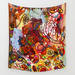 """""""the infernal"""" Wall Tapestry"""