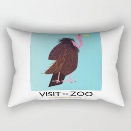 Visit the Zoo Rectangular Pillow