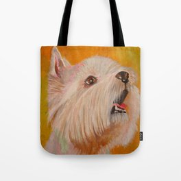 Westhighland White Terrier Portrait Tote Bag