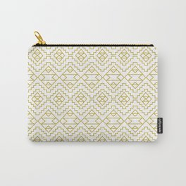 Boho Campfire - Gold Carry-All Pouch