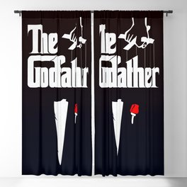 The Godfather, 1972 (Minimalist Movie Poster) Blackout Curtain