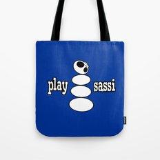 play sassi Tote Bag