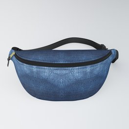 Quilted Indigo Fanny Pack