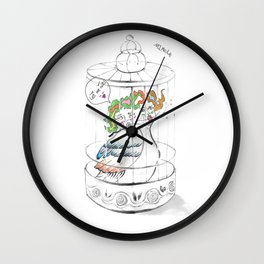 Let me out!! Wall Clock
