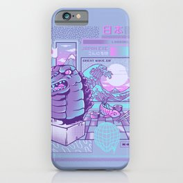 Japan wave iPhone Case