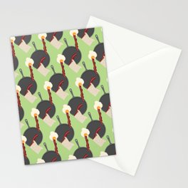 Breakfast Pattern #4 Stationery Cards