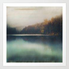 Autumn Dusk Art Print