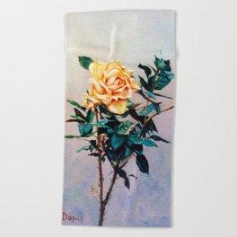 Rosa/Rose Beach Towel