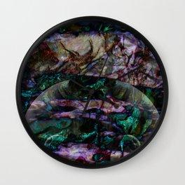 unique marble Wall Clock