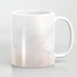 Ecstatic - Pink and Yellow Pastel Seascape Coffee Mug