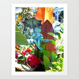 Garden of Happiness Art Print