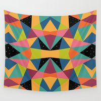 kaleidoscope Wall Tapestries featuring Kaleidoscope by Andy Westface