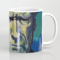 clint eastwood Mugs featuring Clint Eastwood by Boaz