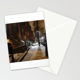 Winter Light in the South End Stationery Cards