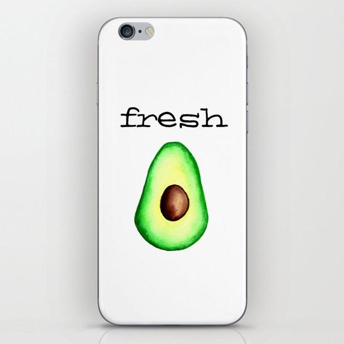 Fresh Avocado fr e sh a voca do iPhone Skin