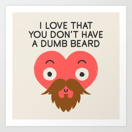 Groomed For Love Art Print