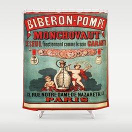 Vintage poster - Biberon-Pompe Shower Curtain