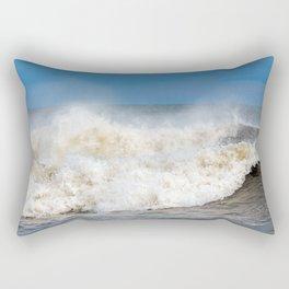 Seaham waves Rectangular Pillow