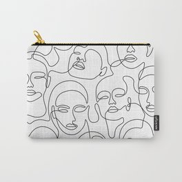 Crowded Girls Carry-All Pouch