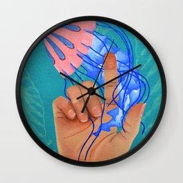 Pet Jellyfish Wall Clock