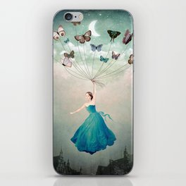 Leaving Wonderland iPhone Skin