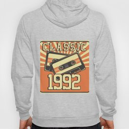 28 th Birthday Gift for Men And Women Born in 1992 Classic Party Birth Anniversary Hoody