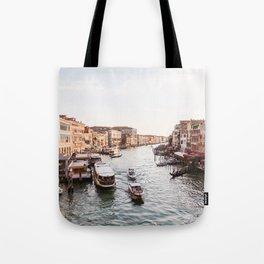 Venice Grand Canal views from Rialto Bridge Tote Bag