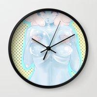 coraline Wall Clocks featuring Coraline by KazuneKoi