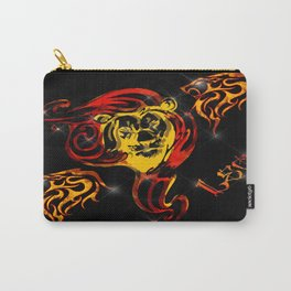 Leo Astrology Sign Carry-All Pouch