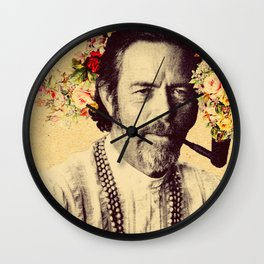 Alan Watts Wall Clock