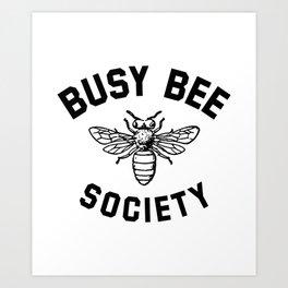 Little Women - Busy Bee Society Art Print