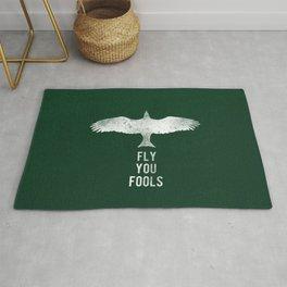 fly you fools Rug