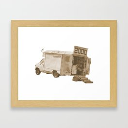 van2000  Framed Art Print