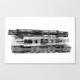 The Art of Retro (I) Canvas Print