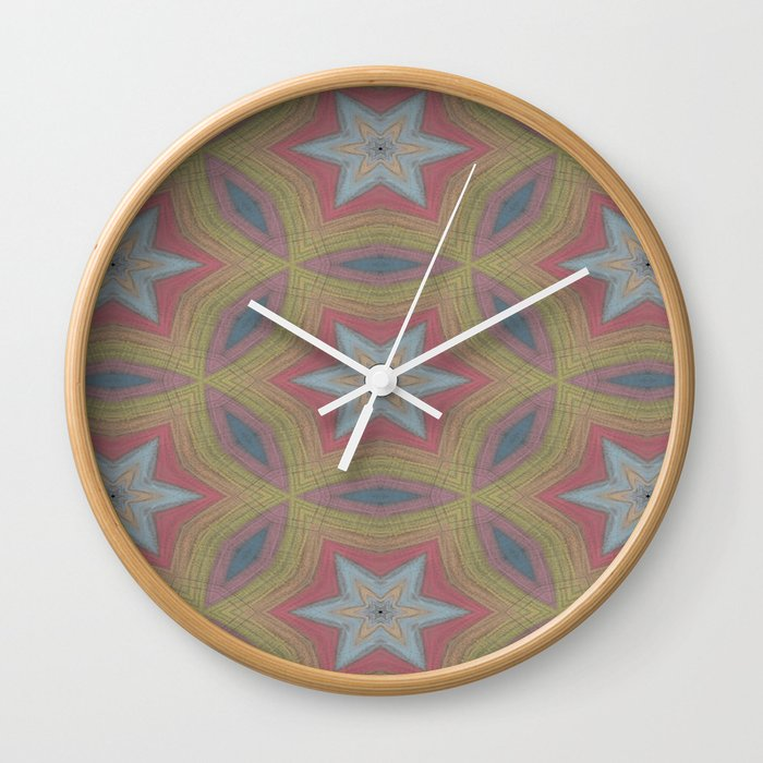 Ann Arbor chalk 6233 Wall Clock