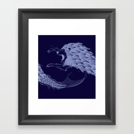 Merlion Framed Art Print