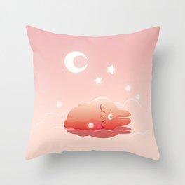 Hisi is sleeping Throw Pillow