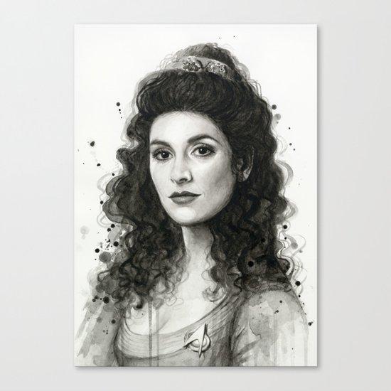 Deanna Troi Canvas Print