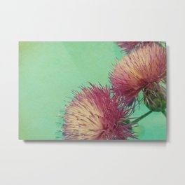 Flying Flower Metal Print