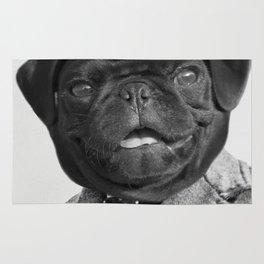 Sir Winston Pug Churchill Rug