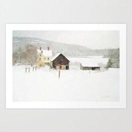 Three Chimneys Art Print