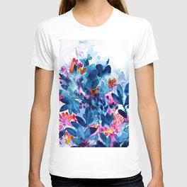 Flower garden watercolor T-shirt