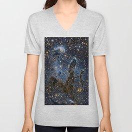 Hubble Stars Unisex V-Neck