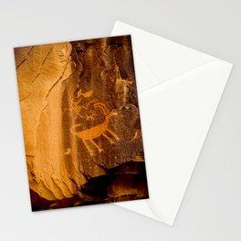 Big Horn Sheep Petroglyph - Nine Mile Canyon - Utah Stationery Cards